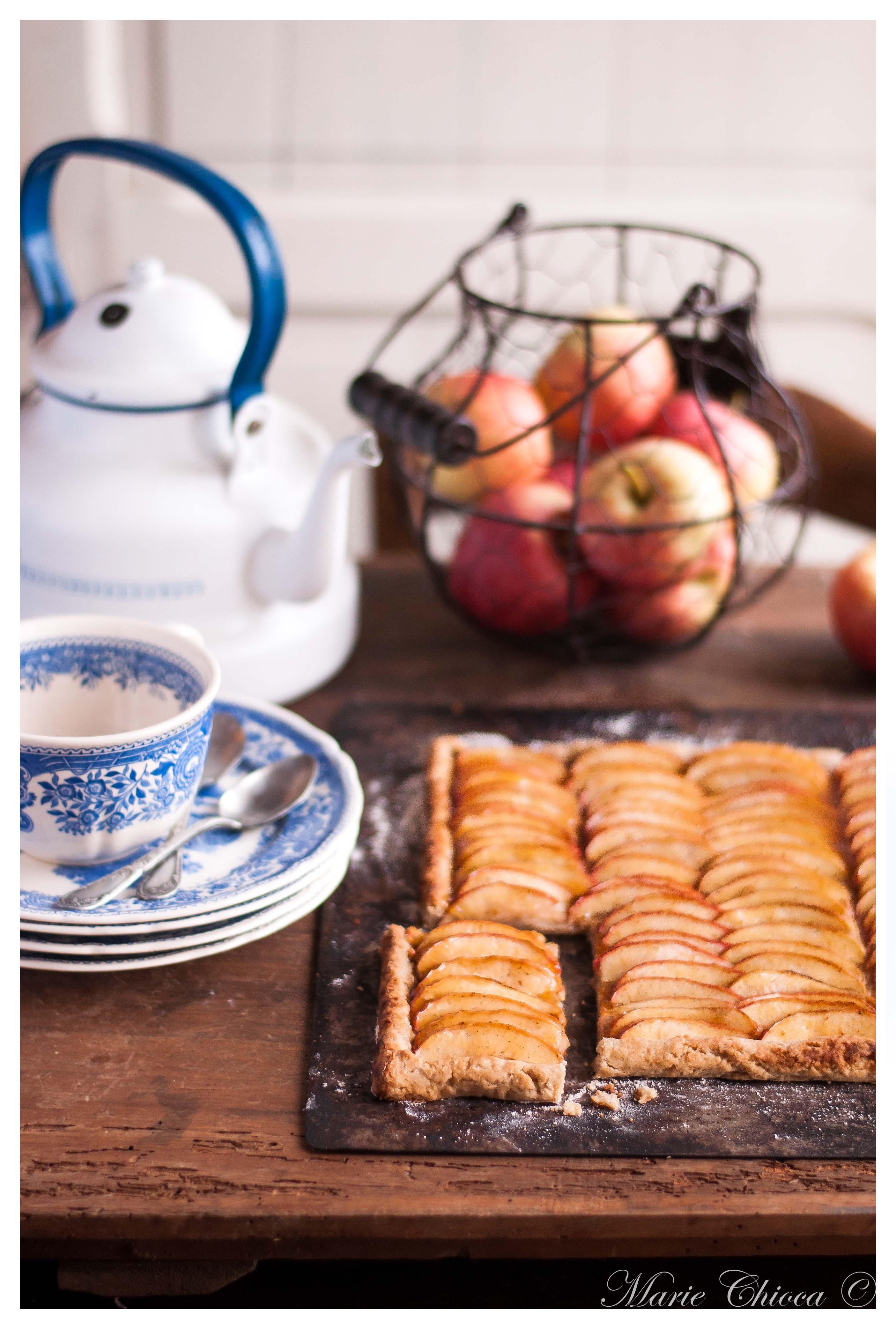 La tarte aux pommes-2