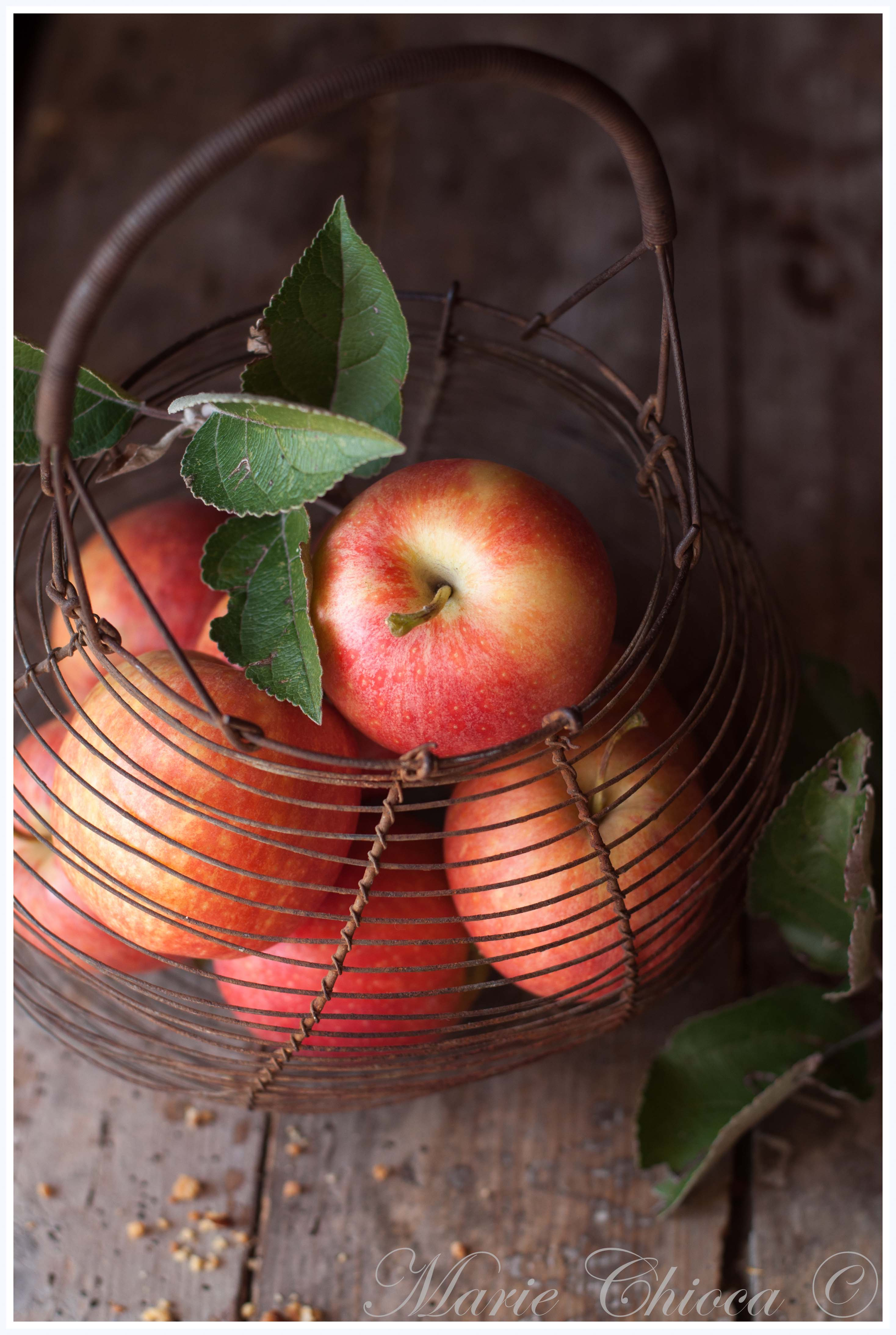La pomme (IG 30 à 35) idéale pour caler les petites faims en gardant une jolie silhouette...