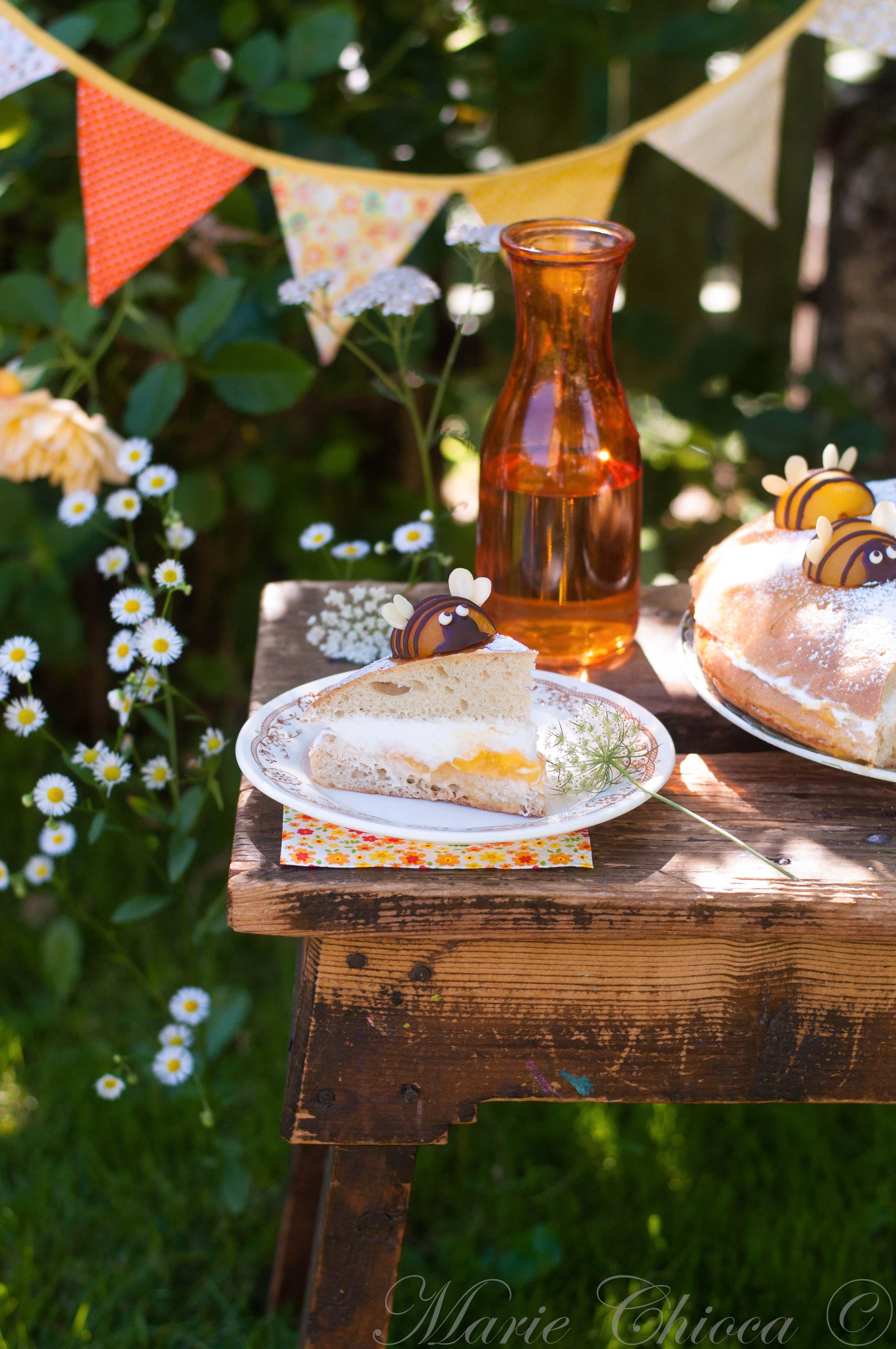 Tropézienne miel-abricot